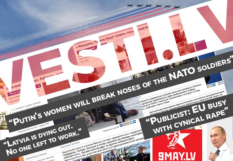 How Russian Propaganda Becomes Even Nastier In Baltic News