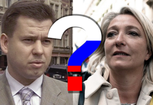 Latvian financier said to act as a go-between to get Russian loan for Le Pen
